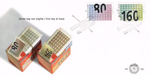 Nederland 1997 FDC Honderd voor uw zaken onbeschreven E360