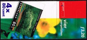 Nederland 1999 Postzegelboekje Vier jaargetijden lente NVPH 1814-1817 PB 53a