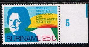 Suriname 1969 15 jaar Statuut voor het Koninkrijk NVPH 528