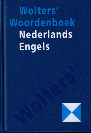 Wolters woordenboek Nederlands Engels ISBN 9001968198