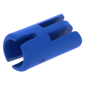 Lego 1974 Homemaker arm handhouder 3613 blauw drie vingers