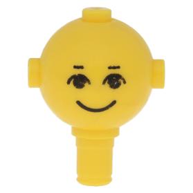 Lego 1974 Homemaker figuur 685px4 hoofd ogen wenkbrauw glimlach