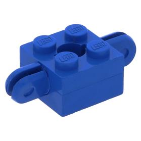 Lego 1974 Homemaker arm houder 792c03 blauw Brick 2 x 2 gat armen