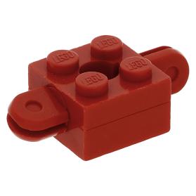 Lego 1974 Homemaker arm houder 792c03 rood Brick 2 x 2 gat armen