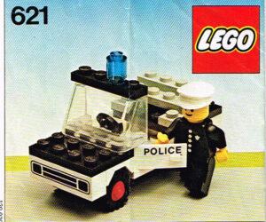 Lego 1978 Legoset 621 Politieauto Police Car