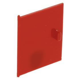 Lego 1971 Homemaker Kastdeur 838 rood 4 x 4