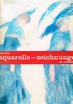 Aquarelle und Zeichnungen XIX. Jahrhundert Deutsch