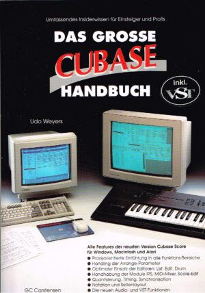Das große Cubase Handbuch mit CD ISBN 391009810X