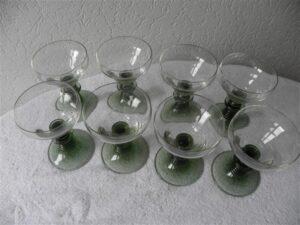 8 duitse wijnglazen