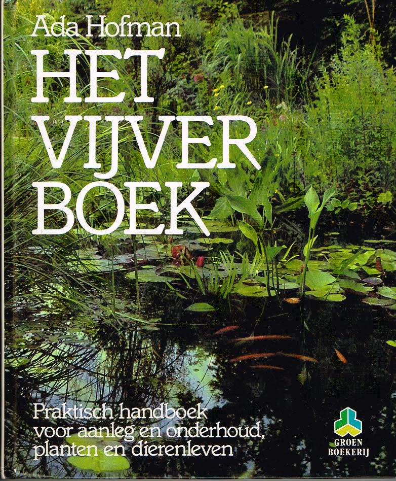 Het Vijverboek Ada Hofman De groenboekerij EAN 9789021523354