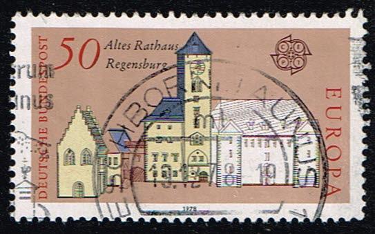 Duitsland (BRD) 1978 gestempeld serie 'Europa' Michel nr 970