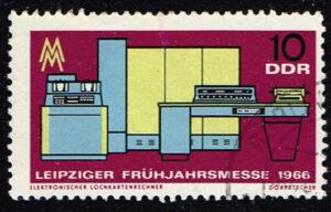 Duitsland (DDR) 1966 Leipziger Frühjahrsmesse 10 pf gestempelt Michel nr 1159