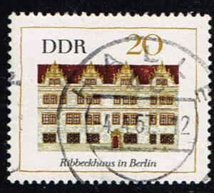 Duitsland (DDR) 1967 Bedeutende Bauwerke gestempelt 20 pf Michel nr 1248