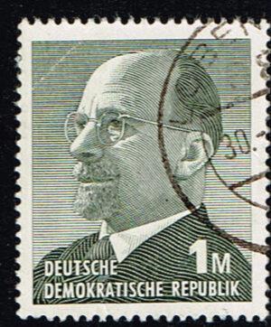 Duitsland (DDR) 1969 Freimarken Walter Ulbricht gestempelt 1 M Michel nr 1481