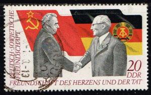 Duitsland (DDR) 1972 Deutsch-Sowjetische Freundschaft gestempelt Michel nr 1760