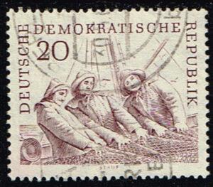 Duitsland (DDR) 1961 Hochseefischerei der DDR gestempelt Michel nr 818