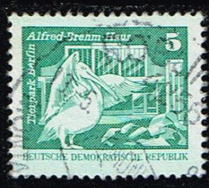 Duitsland (DDR) 1974 Freimarken Aufbau in der DDR gestempelt Michel nr 1947