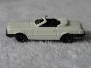 Auto H0 Mercedes 450 SL Cabrio 1:87