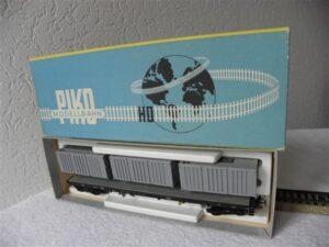 Piko H0 5 6419-915 DDR platte containerwagon