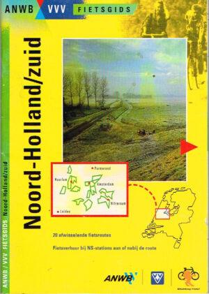 ANWB VVV Fietsgids Noord Holland - Zuid EAN 9789018003951