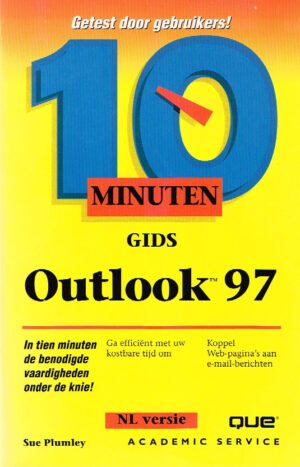 Academic Service 10 minuten gids Outlook 97 EAN 9789039507094