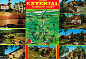 Ansichtskarte Postkarte schönes Extertal Lipperland