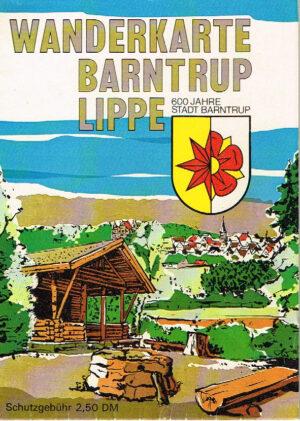 Barntrup Lippe Wanderkarte 600 Jahre Stadt Barntrup
