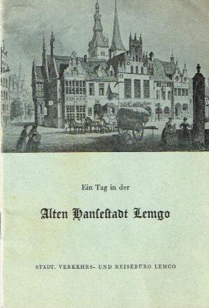 Ein Tag in der Alten Hansestadt Lemgo 1959 Verkehrs und Reiseburo Lemgo