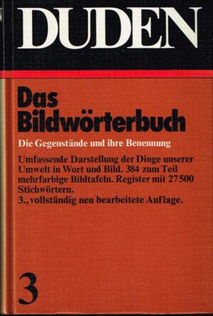 Duden Bildworterbuch des deutschen Sprache ISBN 3411009136