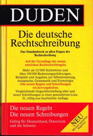 Duden Die Rechtschreibung band 1 ISBN 3411040114