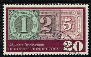 Duitsland (BRD) 1965 125 Jahre Briefmarken gestempelt Michel nr 482