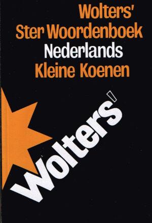 Wolters Ster Woordenboek Nederlands ISBN 9001812678