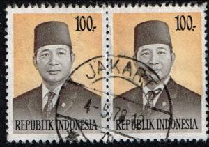 Indonesië 1974 Frankeerzegels President Soeharto gestempeld Michel 794