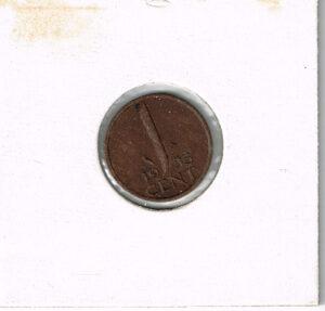 Koninkrijksmunten Nederland 1953 koningin Juliana 1 cent