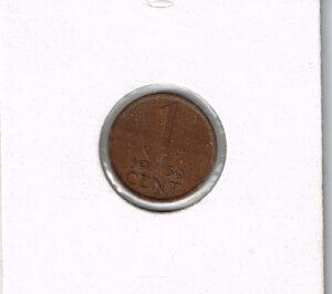Koninkrijksmunten Nederland 1959 koningin Juliana 1 cent