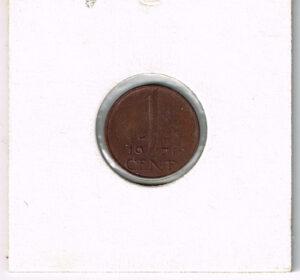 Koninkrijksmunten Nederland 1971 koningin Juliana 1 cent