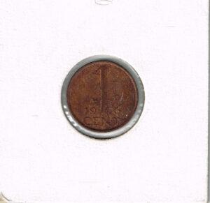 Koninkrijksmunten Nederland 1976 koningin Juliana 1 cent
