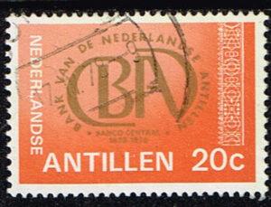 Ned Antillen 1978 150 jaar BA Bank gestempeld NVPH 574