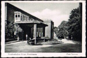 Ansichtkaart Duitsland Lemgo Lipperland Kreiskrankenhaus