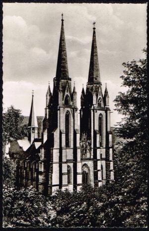 Ansichtkaart Duitsland Marburg an der Lahn Elisabethkirche