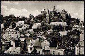Ansichtkaart Duitsland Marburg an der Lahn Landgrafenschloss K57