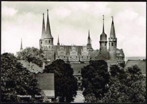 Ansichtkaart Duitsland Merseburg an de Saale Dom 476-03