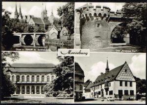 Ansichtkaart Duitsland Merseburg diverse opnames 482-020