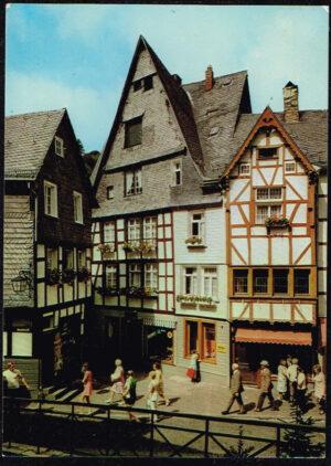 Ansichtkaart Duitsland Monschau / Eifel Montjoie 1970