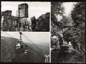 Ansichtkaart Duitsland Thale Harz diverse afbeeldingen P4 72