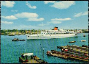 Ansichtkaart Nederland Amsterdam Havengezicht nr 4