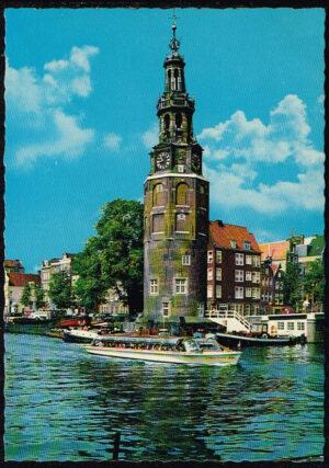 Ansichtkaart Nederland Amsterdam Montelbaantoren nr 21