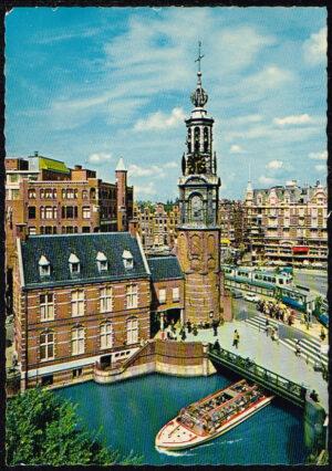 Ansichtkaart Nederland Amsterdam Muntplein nr 15