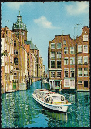 Ansichtkaart Nederland Amsterdam 't Kolkje nr 8