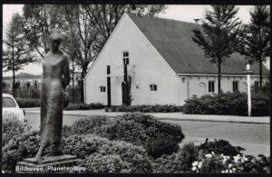 Ansichtkaart Nederland Bilthoven Planetenlaan voormalige boerderij